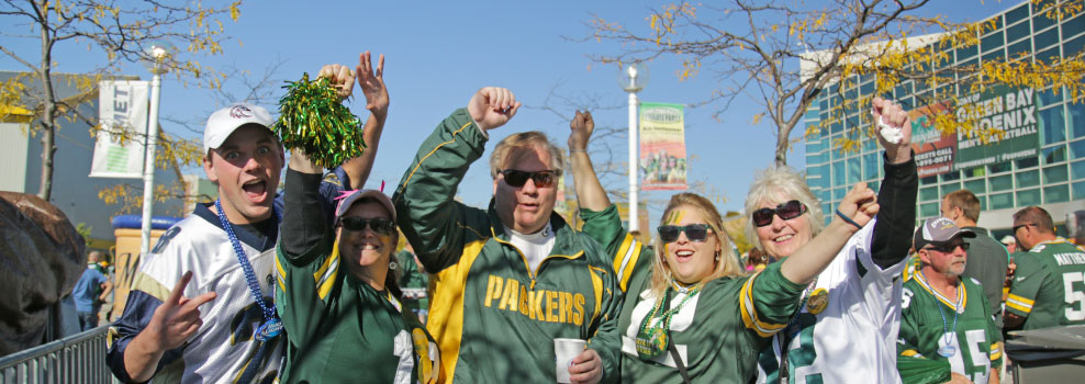 Green Bay Packers Bus Trips
