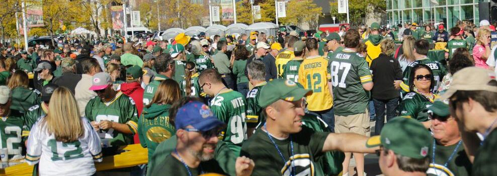 Green Bay Ticket Service tailgate parties