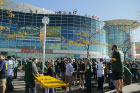 VIP packers tailgate party