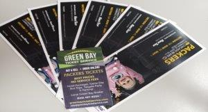 Green Bay Packers Tickets!